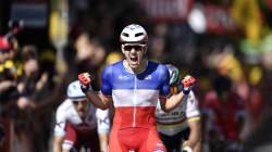 Première victoire d'étape française sur le