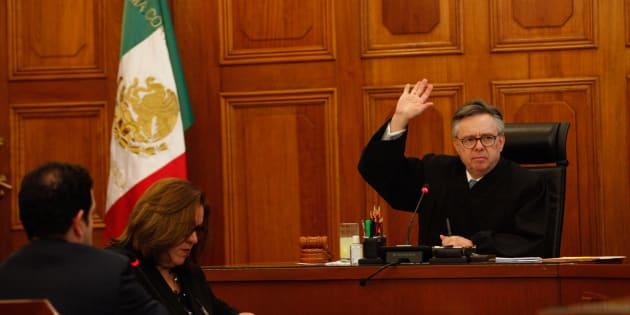 Sesión de la Segunda Sala de la Suprema Corte de Justicia de la Nación, que preside el Ministro Eduardo Medina Mora.