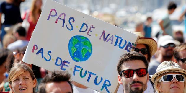 Plusieurs dizaines de milliers de personnes ont défilé en France pour que la défense de l'environnement devienne une priorité.