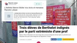 Une lycéenne menacée de mort à Calais pour avoir dénoncé cette prof candidate d'extrême
