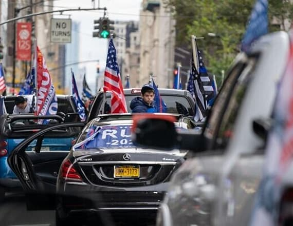 NYC Jews for Trump caravan stirs protests, fights
