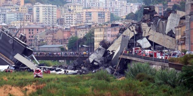 """Ponte Morandi, il racconto di un testimone: """"Prima un f"""