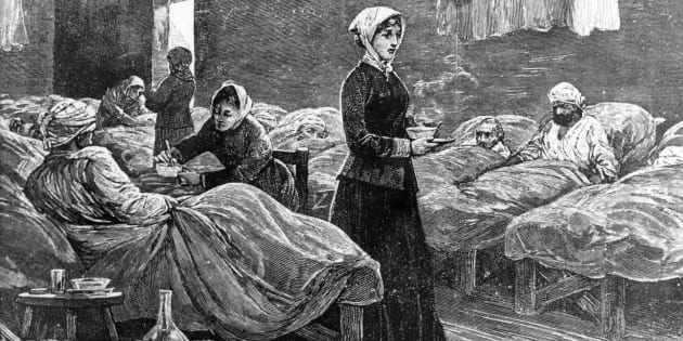 """Throw out your textbooks, I'm correcting the record. Florence Nightingale is henceforth the patron saint of mathematics."""