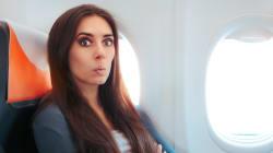 Cette vidéo totalement culottée filmée dans un avion vaut le
