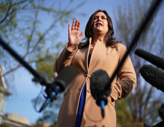 Sarah Sanders invents whole new way to say she lied