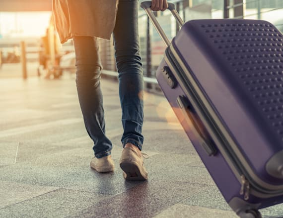 Woman goes viral for travel hack