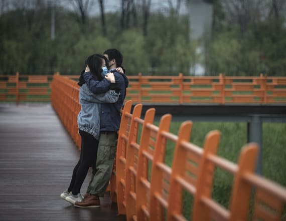 Wuhan couples crash marriage application system