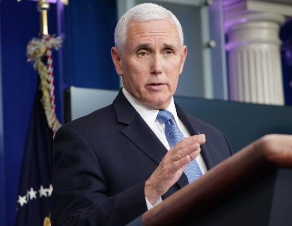 Pence says Trump is just being 'optimistic' on virus