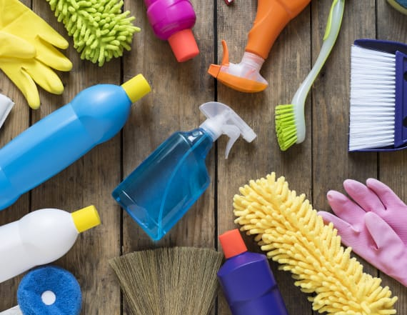 Create your own household cleaners
