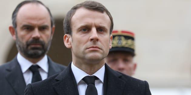 """Assassinat de Mireille Knoll: Emmanuel Macron a assisté """"à titre personnel"""" aux obsèques"""