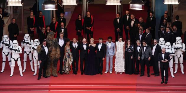 """""""Solo"""": Pour sa soirée Cannoise, Star Wars a fait les choses en grand."""
