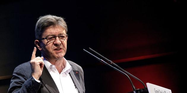 Jean-Luc Mélenchon, en meeting au mois de septembre.