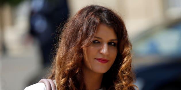 Marlène Schiappa à l'Elysée le 22 juin 2017