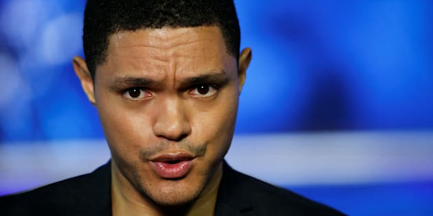 Television host Trevor Noah attends an interview with Reuters in New York July 7, 2016.