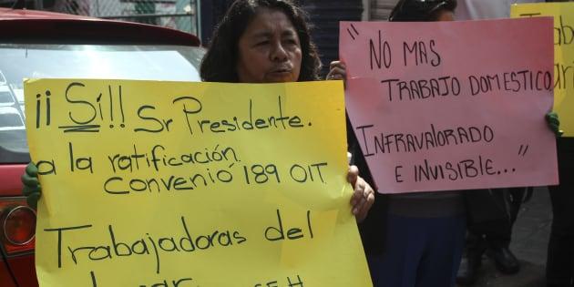 La Suprema Corte de Justicia de la Nación (SCJN) determinó que las trabajadoras del hogar deberán estar inscritas al Instituto Mexicano del Seguro Social (IMSS).