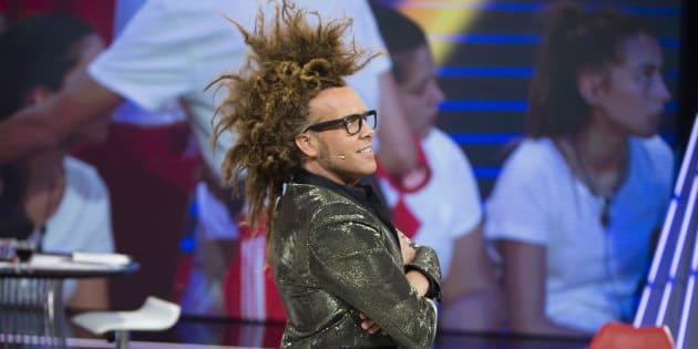Torito durante el debate del programa 'Gran Hermano' de Telecinco en Madrid.