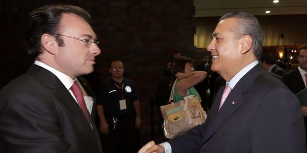 Acusa Yáñez a Manlio Fabio Beltrones como operador de desvíos