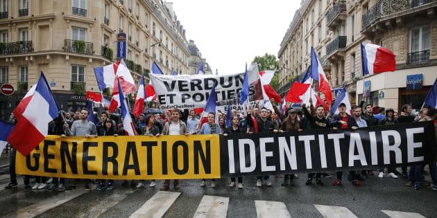 Une action anti-migrants menée dans les Alpes