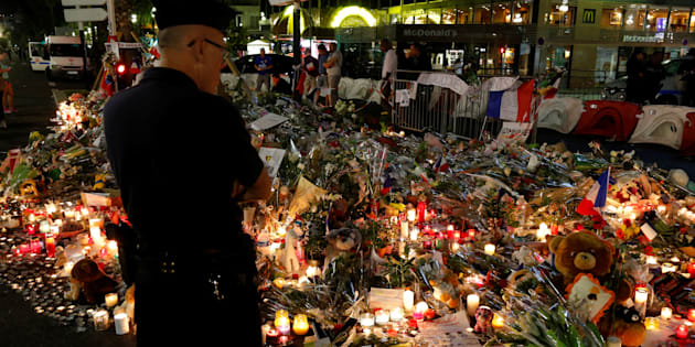 The growing tributes to the victims of the Bastille Day attack, France's third terror attack in 18 months.