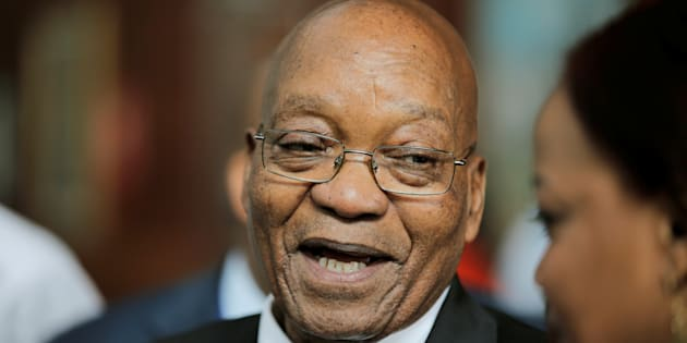 South Africa's Zuma asks prosecutors to drop graft charges