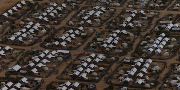 Un camp de réfugiés au Kenya.