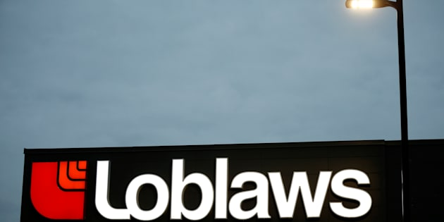 A sign is pictured outside a Loblaw supermarket in Ottawa, Nov. 14, 2017.