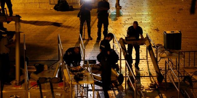 Esplanade des Mosquées à Jérusalem: Israël supprime les détecteurs de métaux