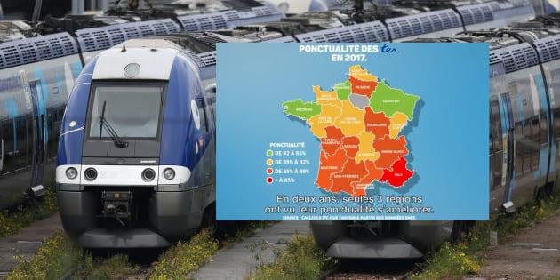 La ponctualité des trains s'est dégradée régionaux, s'alarme l'UFC-Que Choisir — SNCF/RATP