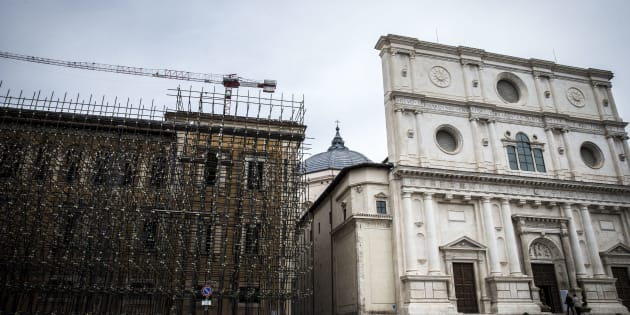 Basilica San Bernardino, L'Aquila.