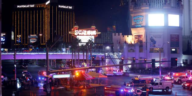 59 morts et plus de 500 blessés à Las Vegas, fusillade la plus sanglante des États-Unis