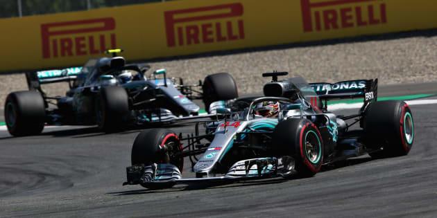 Doppietta Mercedes al Gp di Germania, alla Ferrari non riesce la dedica a Marchionne