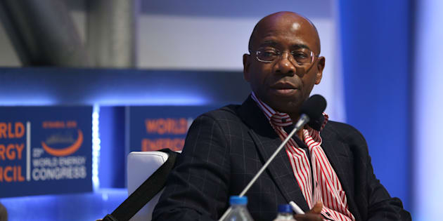 World Energy Council Africa vice-chairman Bonang Mohale speaks at the 23rd World Energy Congress in Istanbul, Turkey last year. (Photo by Sebnem Coskun/Anadolu/Getty Images)