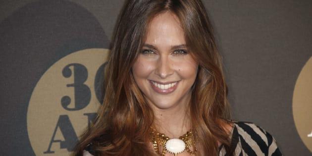 Ophelie Meunier au 30 ans de Canal+ le 4 novembre 2014.