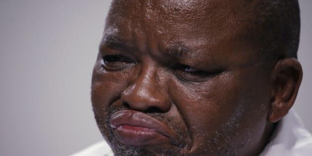 African National Congress (ANC) Secretary-General Gwede Mantashe.