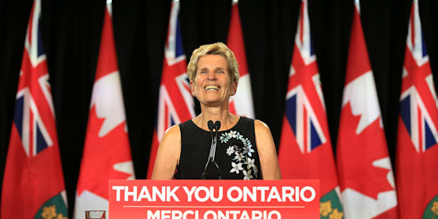 Former Ontario premier Kathleen Wynne addresses the election loss that left the Liberals with only 7 seats on  June 8, 2018.