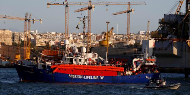 Le Lifeline dans le port de La Valette à Malte, le 27 juin 2018 (photo d'illustration)