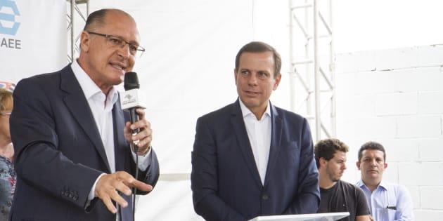 Geraldo Alckmin e João Doria são os dois presidenciáveis do PSDB.