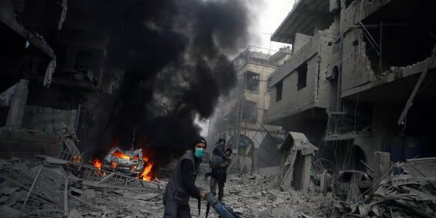 Da Douma, in Siria, racconti della buonanotte