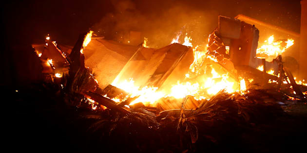 Incendio in California |  evacuata Malibu