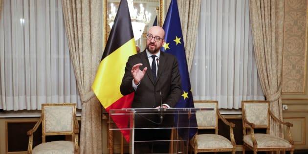 Le premier ministre Charles Michel, ici photographié le samedi 8 décembre, a pris la tête d'un gouvernement minoritaire, ce dimanche.
