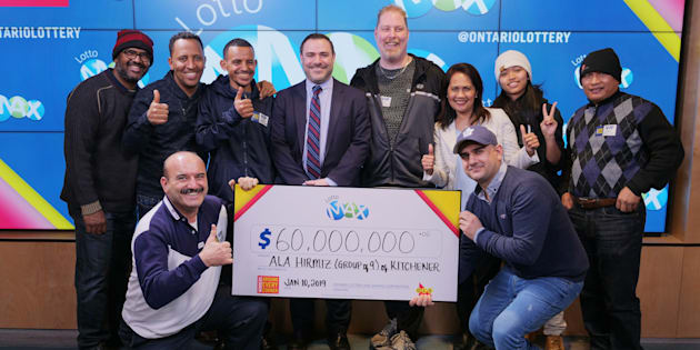 Newcomer To Canada Among 9 Coworkers Splitting $60M Lotto Max Jackpot