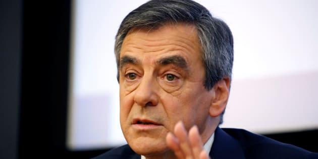 François Fillon, le 8 mars 2017 à Paris.