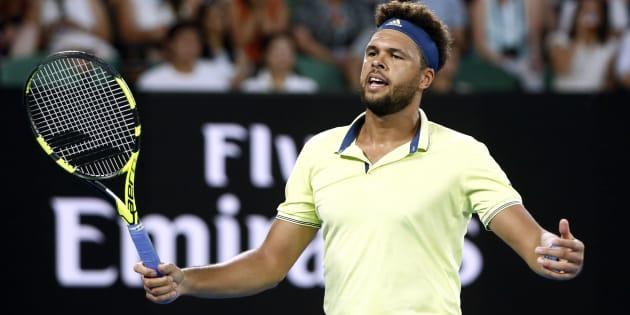 Le coup de gueule de Jo-Wilfried Tsonga contre un spectateur en plein match à l'Open d'Australie