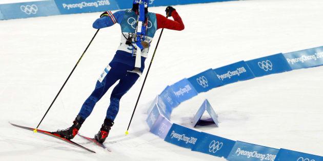 Martin Fourcade égale Jean-Claude Killy en remportant la poursuite aux JO d'hiver 2018