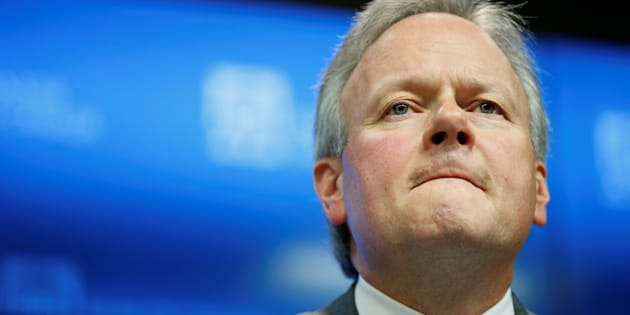 Bank of Canada Governor Stephen Poloz takes part in a news conference upon the release of the Financial System Review in Ottawa, Nov. 28, 2017.