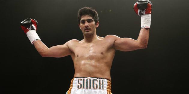 File photo of boxer Vijender Singh.