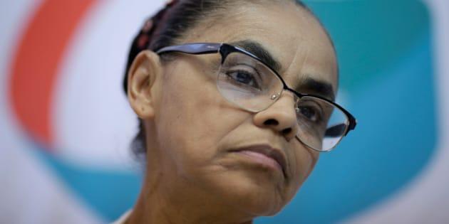 Marina Silva, candidata da Rede, usou Twitter para pedir celeridade no julgamento de Aécio.