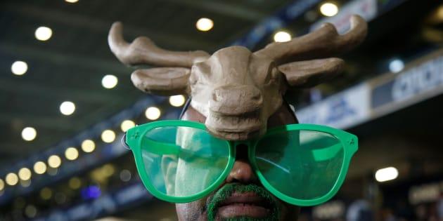A fan of the Springboks. Photo:  REUTERS/Nigel Marple