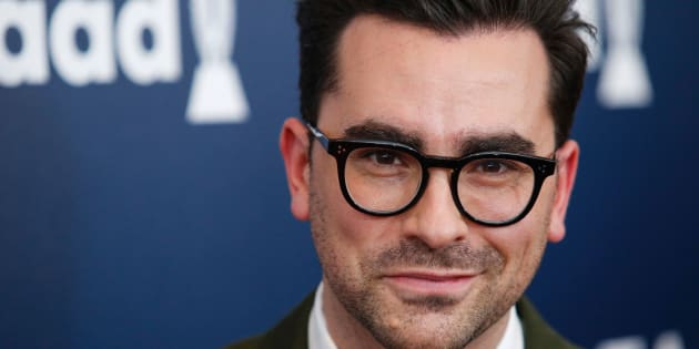 Actor Dan Levy attends the 28th Annual GLAAD Media Awards on May 6, 2017 in New York.