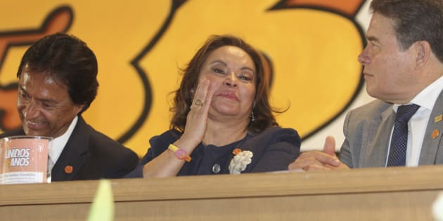 Elba Esther Gordillo Morales, celebró su cumpleaños numero 68 encabezando el 36 aniversario de la Sección 36 del Sindicato Nacional de Trabajadores de la Educación, en Tlanepantla, Estado de México, el 6 de febrero de 2013.